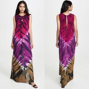 New YFB Tie Dye Jetter Maxi Dress